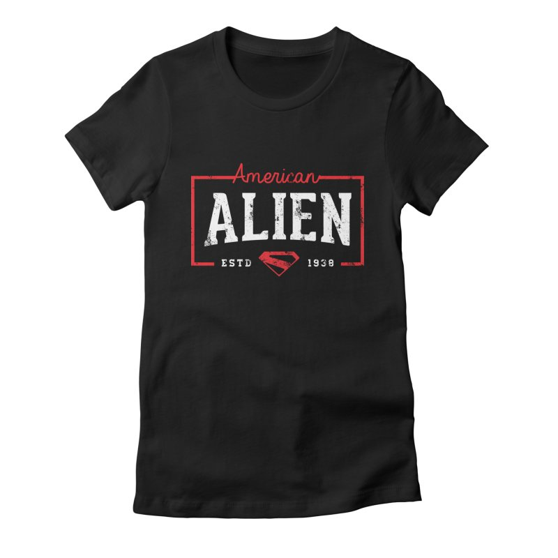 American Alien Women's T-Shirt by halfcrazy designs