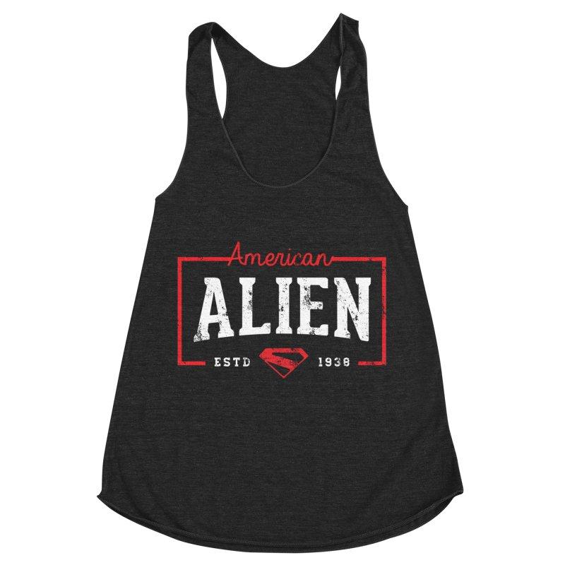 American Alien Women's Tank by halfcrazy designs
