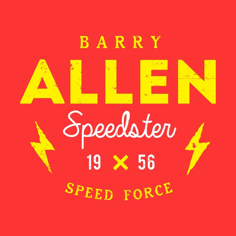 B. Allen - Speedster Women's V-Neck by halfcrazy designs
