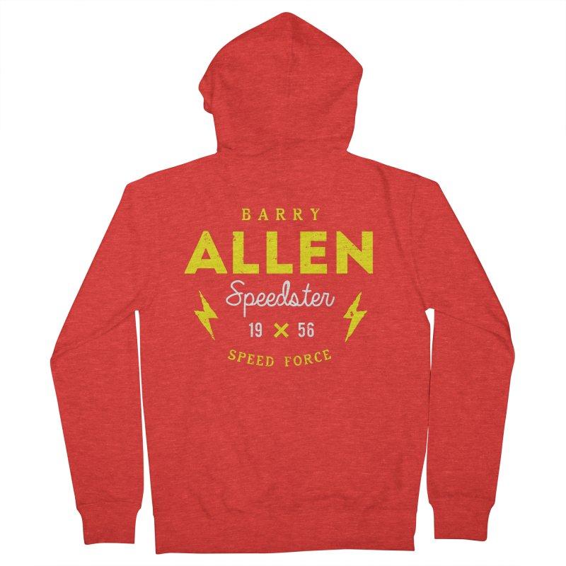 B. Allen - Speedster Women's Zip-Up Hoody by halfcrazy designs