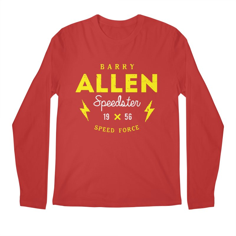B. Allen - Speedster Men's Regular Longsleeve T-Shirt by halfcrazy designs