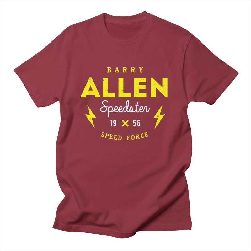B. Allen - Speedster Men's T-Shirt by halfcrazy designs
