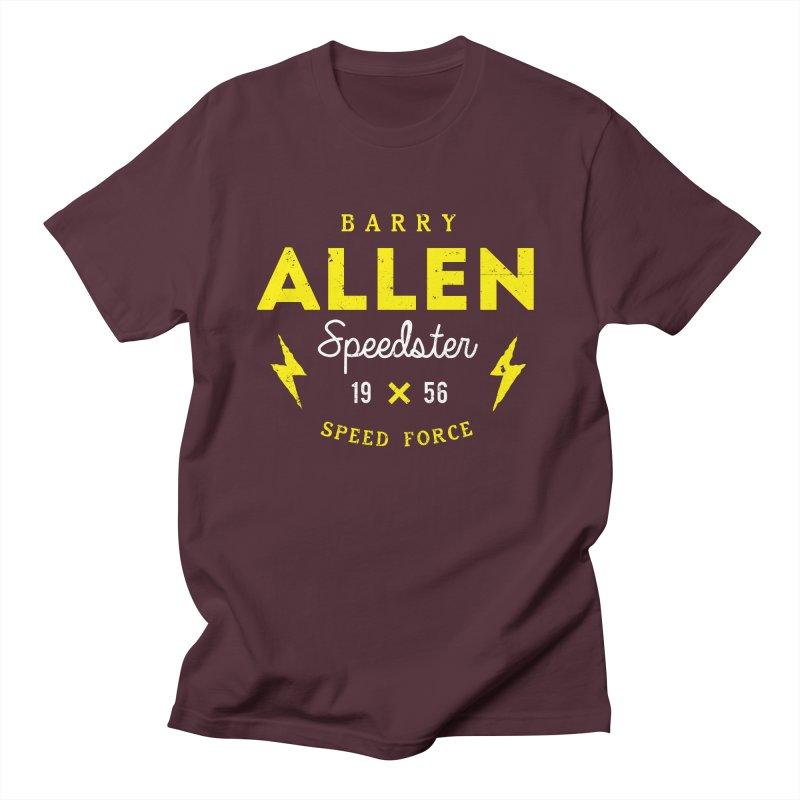 B. Allen - Speedster Men's T-Shirt by halfcrazy designs