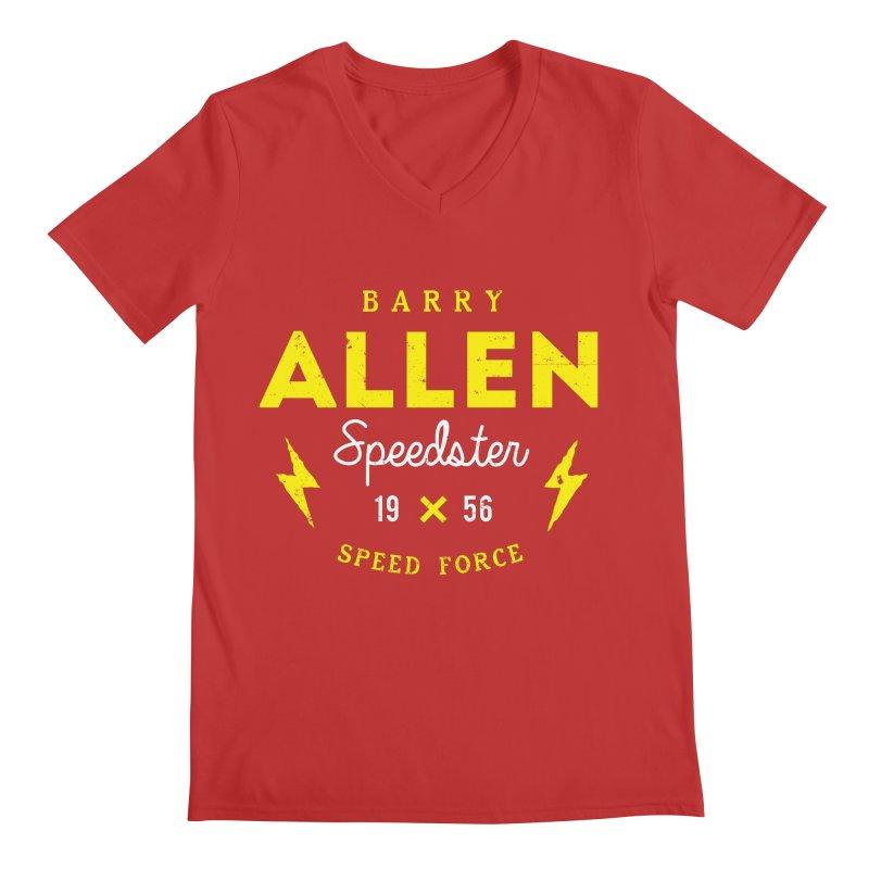 B. Allen - Speedster Men's V-Neck by halfcrazy designs