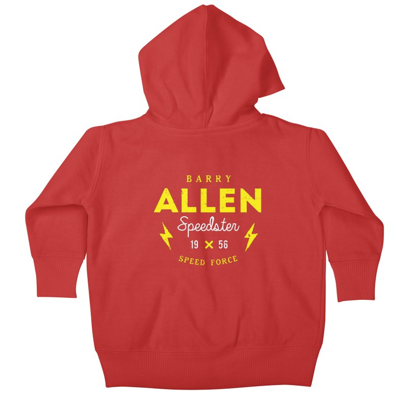 B. Allen - Speedster Kids Baby Zip-Up Hoody by halfcrazy designs