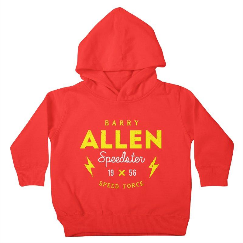 B. Allen - Speedster Kids Toddler Pullover Hoody by halfcrazy designs