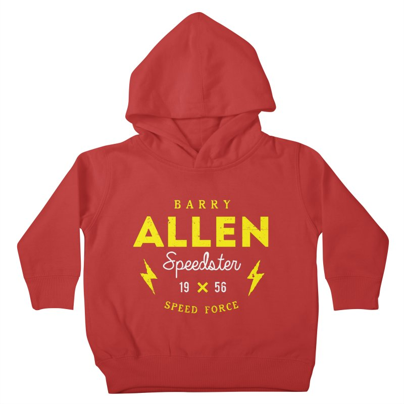 B. Allen - Speedster Kids Toddler Pullover Hoody by halfcrazy designs