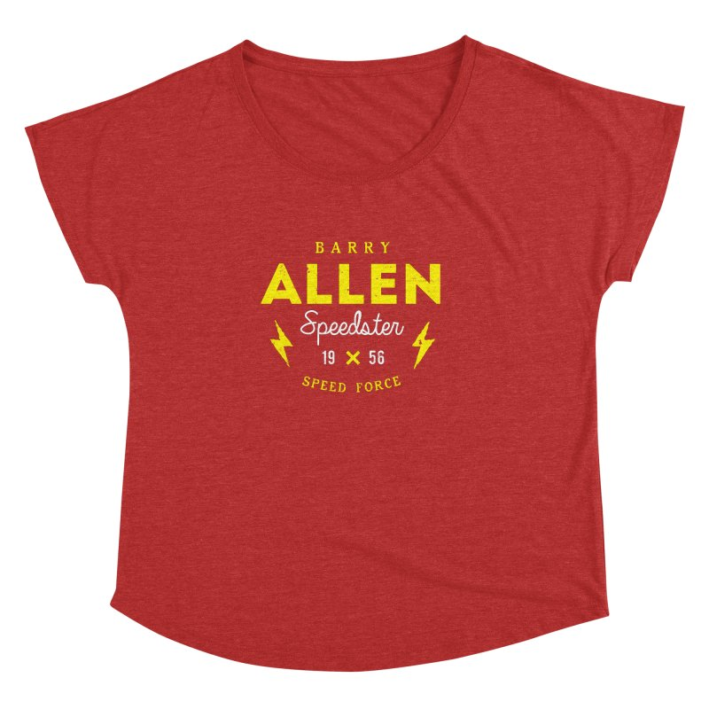 B. Allen - Speedster Women's Dolman Scoop Neck by halfcrazy designs