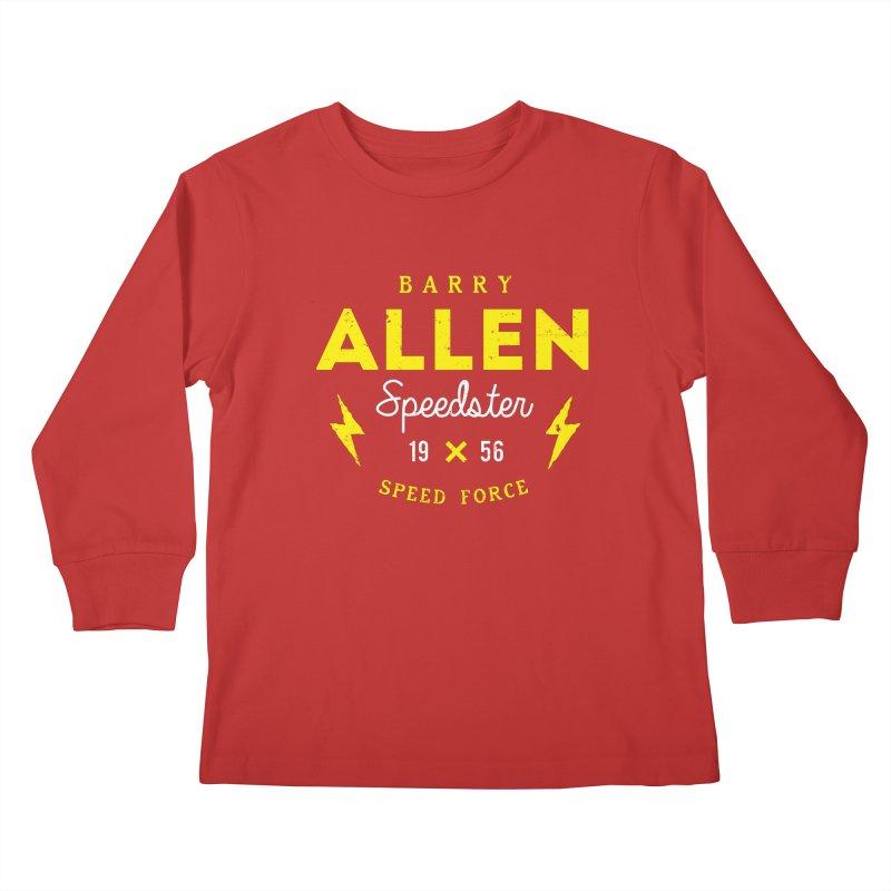 B. Allen - Speedster Kids Longsleeve T-Shirt by halfcrazy designs