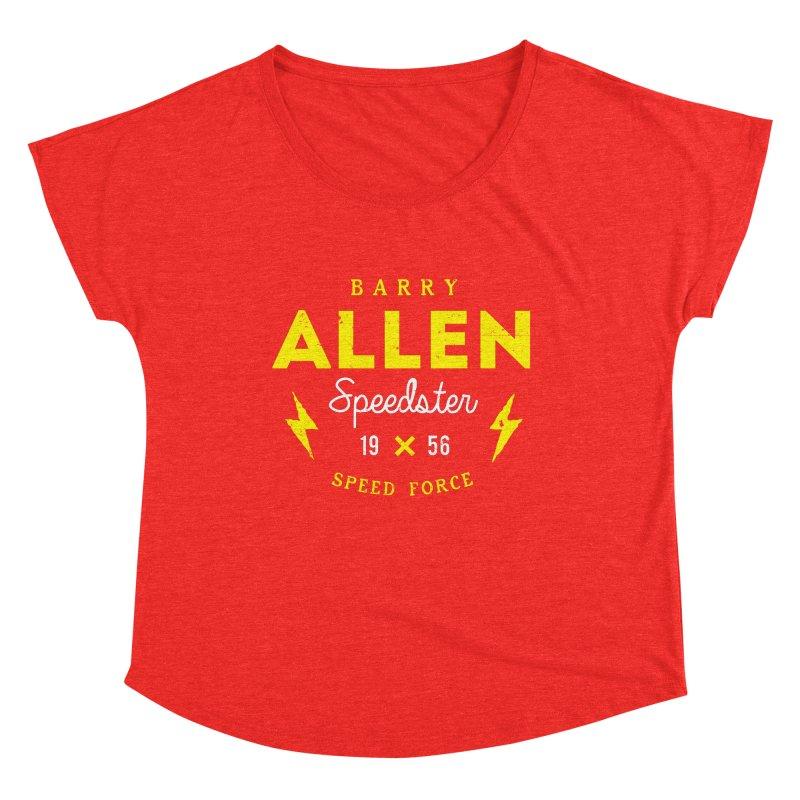 B. Allen - Speedster Women's Scoop Neck by halfcrazy designs