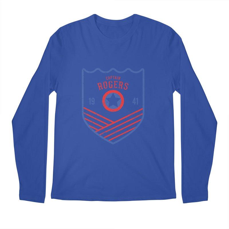 Vintage Rogers Men's Regular Longsleeve T-Shirt by halfcrazy designs