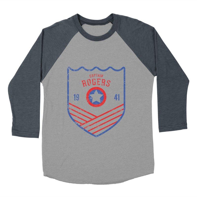 Vintage Rogers Women's Baseball Triblend T-Shirt by halfcrazy designs