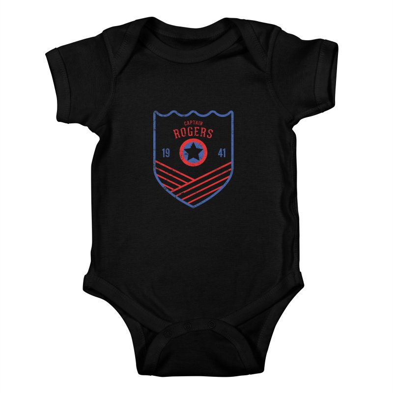 Vintage Rogers Kids Baby Bodysuit by halfcrazy designs