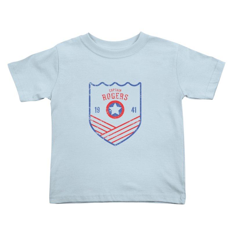Vintage Rogers Kids Toddler T-Shirt by halfcrazy designs