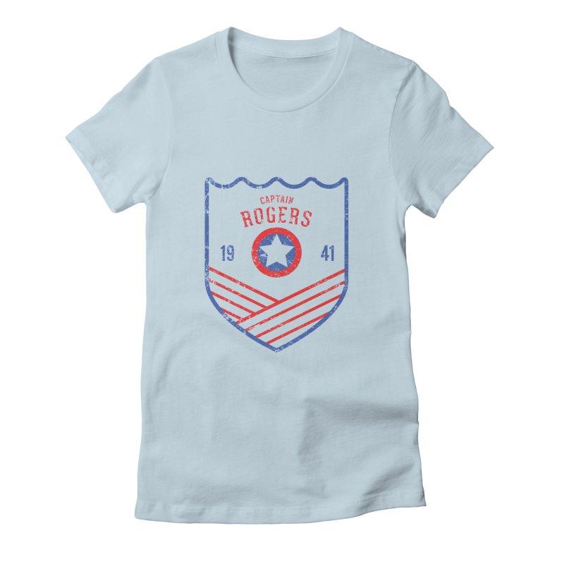 Vintage Rogers Women's T-Shirt by halfcrazy designs