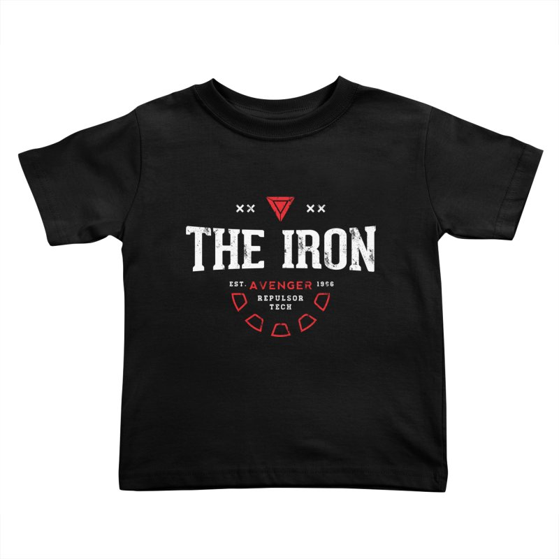 Vintage Avenger Kids Toddler T-Shirt by halfcrazy designs