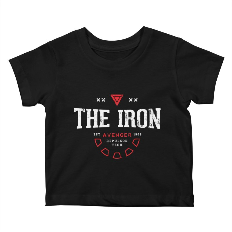 Vintage Avenger Kids Baby T-Shirt by halfcrazy designs