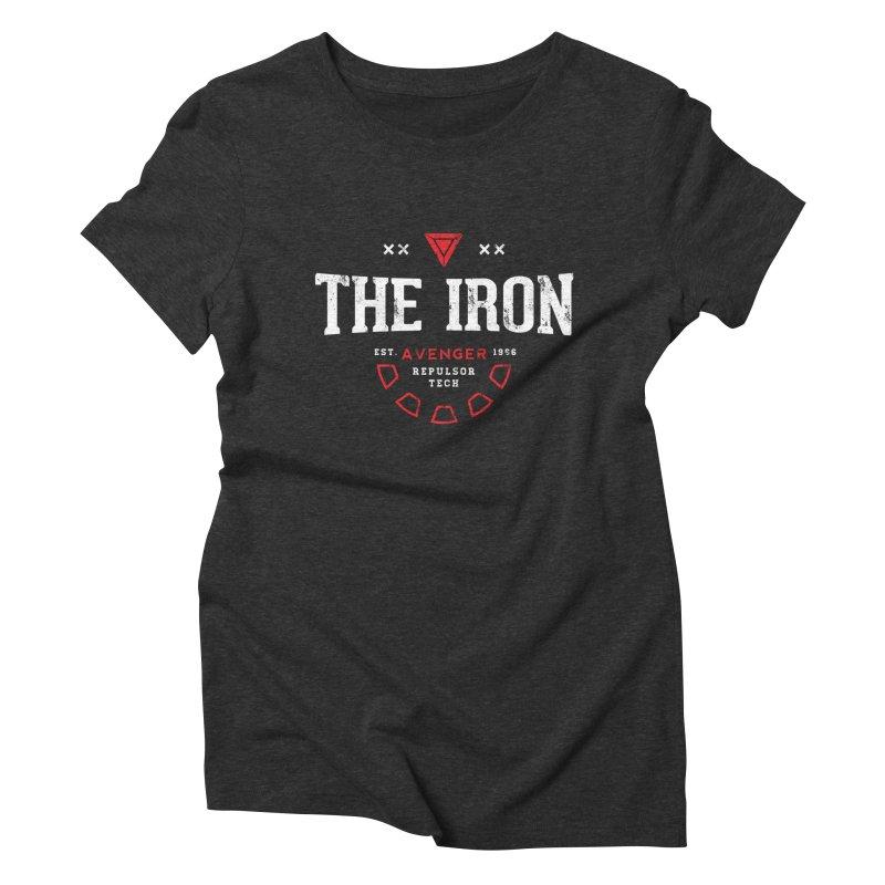 Vintage Avenger Women's T-Shirt by halfcrazy designs