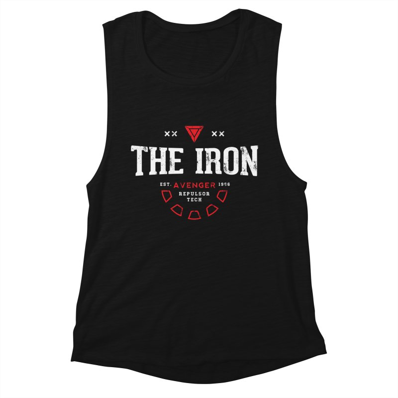Vintage Avenger Women's Muscle Tank by halfcrazy designs