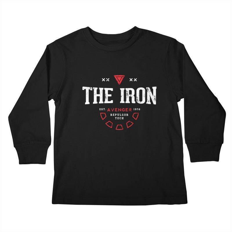 Vintage Avenger Kids Longsleeve T-Shirt by halfcrazy designs
