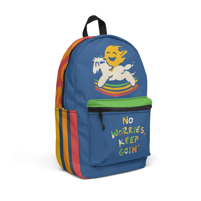 No Prob Accessories Backpack Bag by Kev's Artist Shop