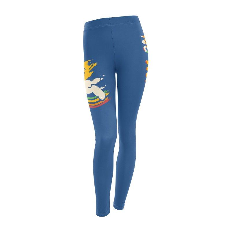 No Prob Women's Leggings Bottoms by Kev's Artist Shop