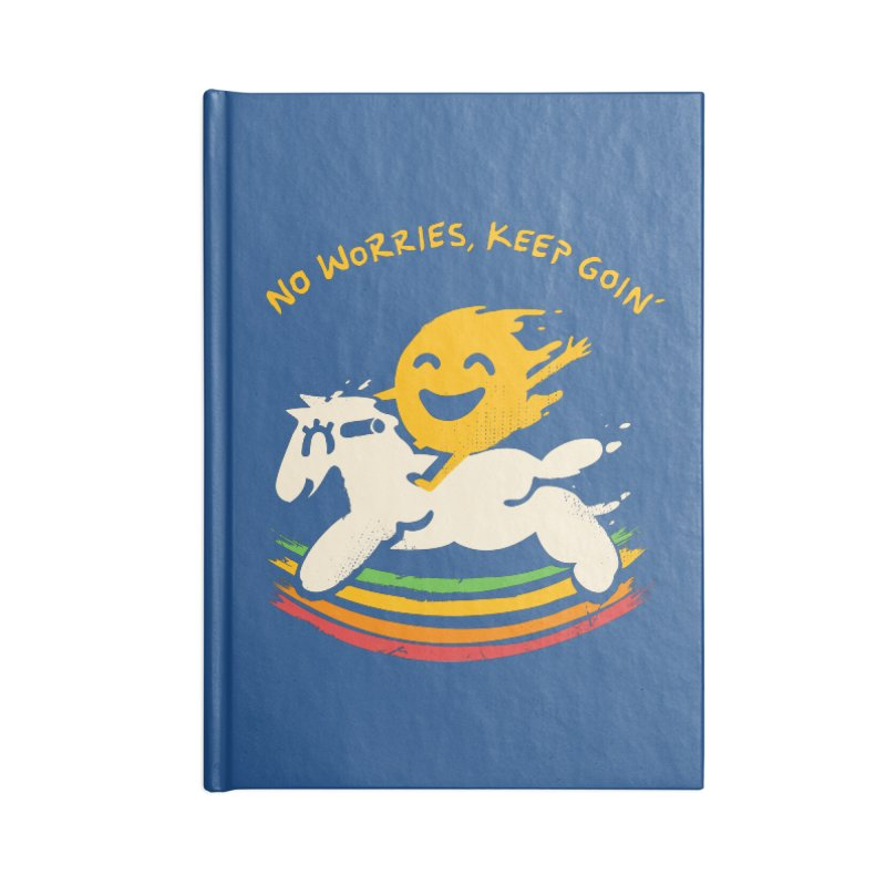 No Prob Accessories Blank Journal Notebook by Kev's Artist Shop
