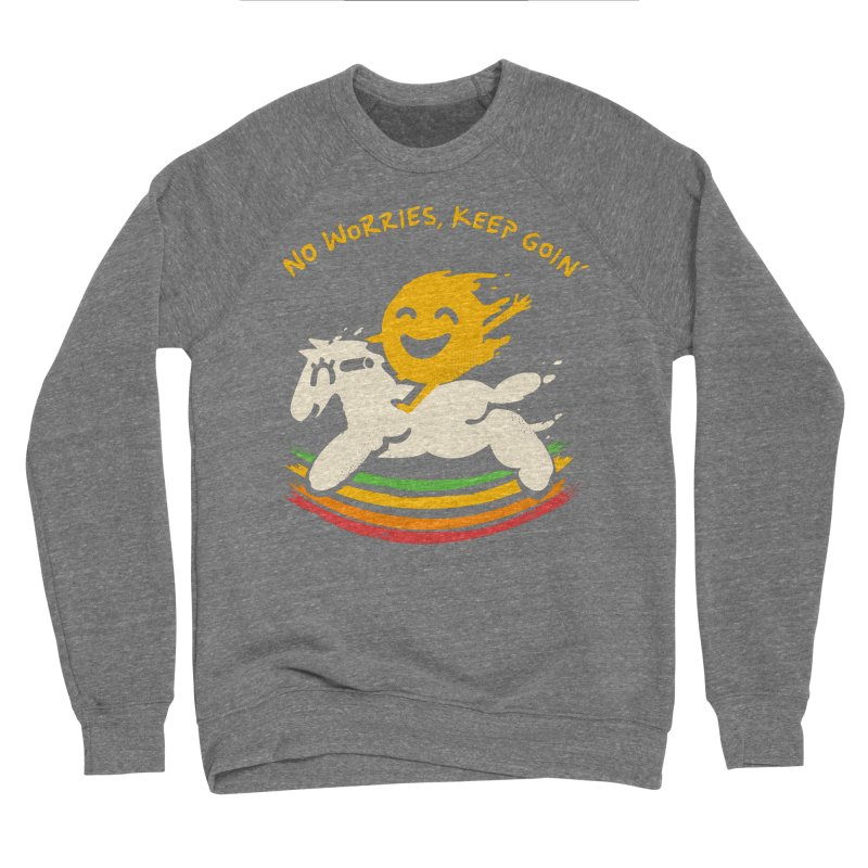 No Prob Men's Sponge Fleece Sweatshirt by Kev's Artist Shop
