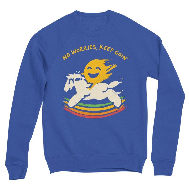 No Prob Women's Sponge Fleece Sweatshirt by Kev's Artist Shop