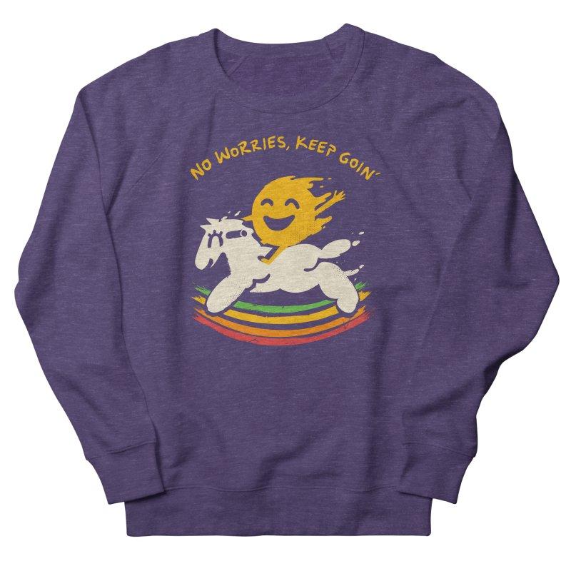 No Prob Men's French Terry Sweatshirt by Kev's Artist Shop