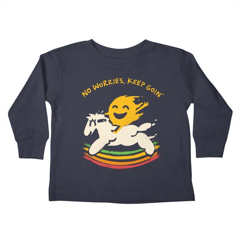 No Prob Kids Toddler Longsleeve T-Shirt by Kev's Artist Shop