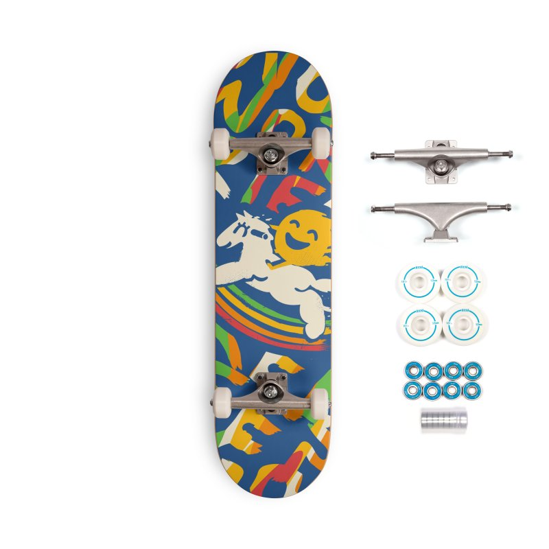 No Prob Accessories Complete - Basic Skateboard by Kev's Artist Shop