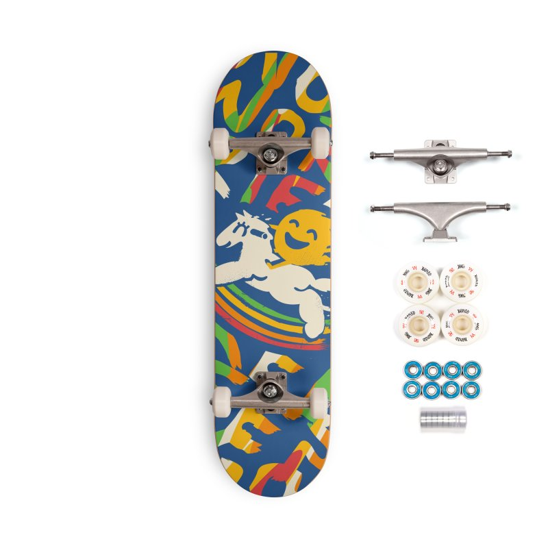 No Prob Accessories Complete - Premium Skateboard by Kev's Artist Shop