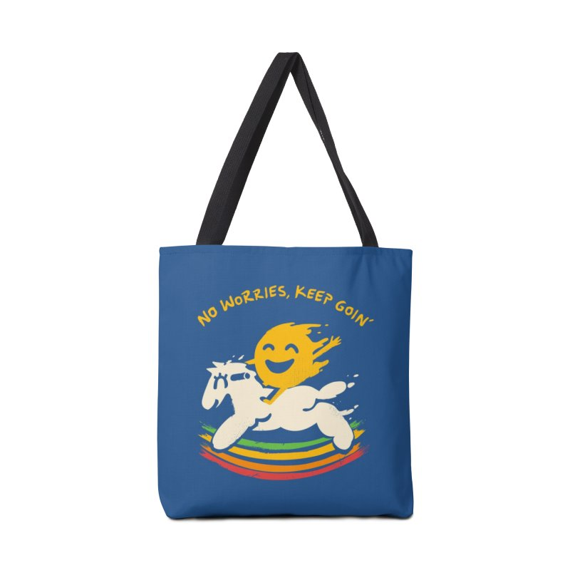 No Prob Accessories Tote Bag Bag by Kev's Artist Shop