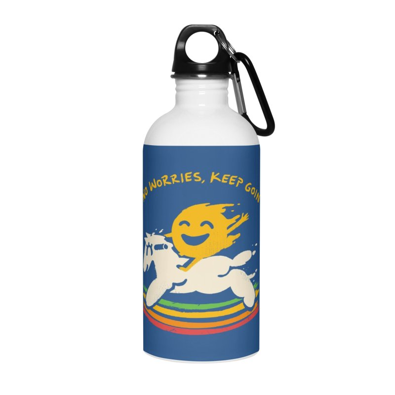 No Prob Accessories Water Bottle by Kev's Artist Shop