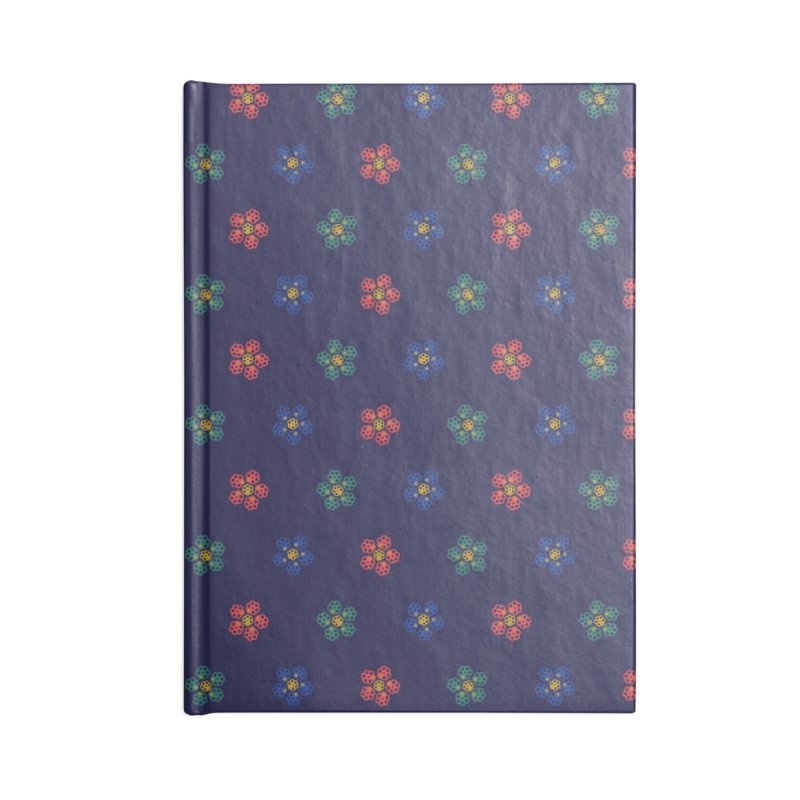 Roses and Guns Accessories Blank Journal Notebook by Kev's Artist Shop