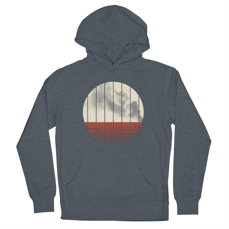 At Ease Women's French Terry Pullover Hoody by halfgotten's Artist Shop