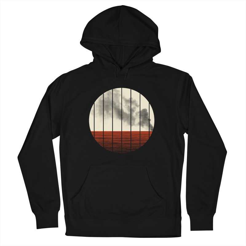 At Ease Men's French Terry Pullover Hoody by halfgotten's Artist Shop