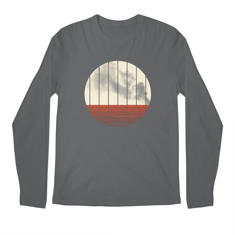 At Ease Men's Regular Longsleeve T-Shirt by halfgotten's Artist Shop