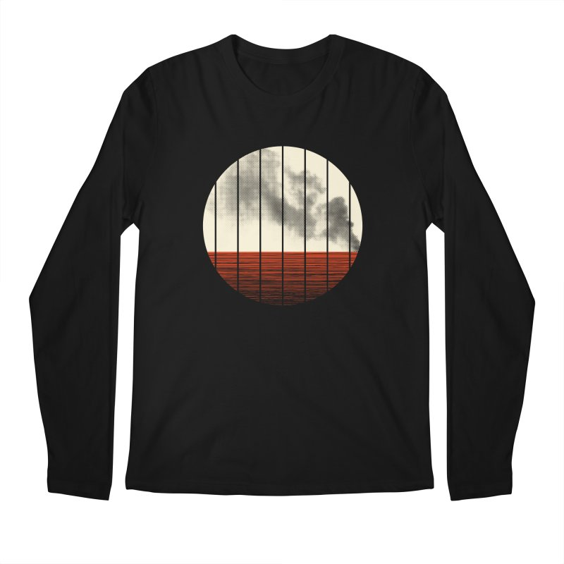 At Ease Men's Longsleeve T-Shirt by halfgotten's Artist Shop