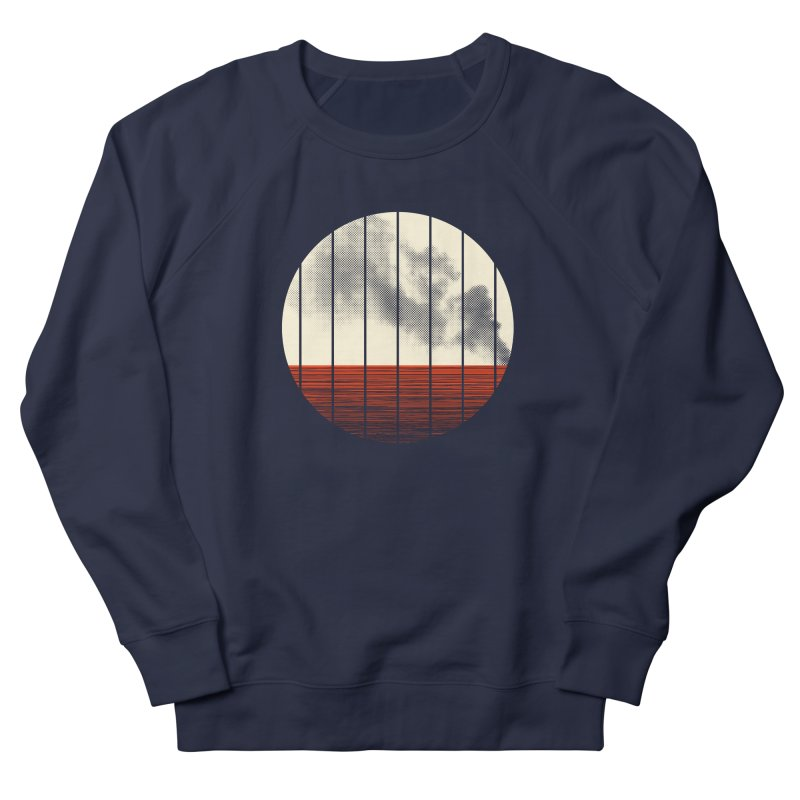At Ease Women's French Terry Sweatshirt by halfgotten's Artist Shop