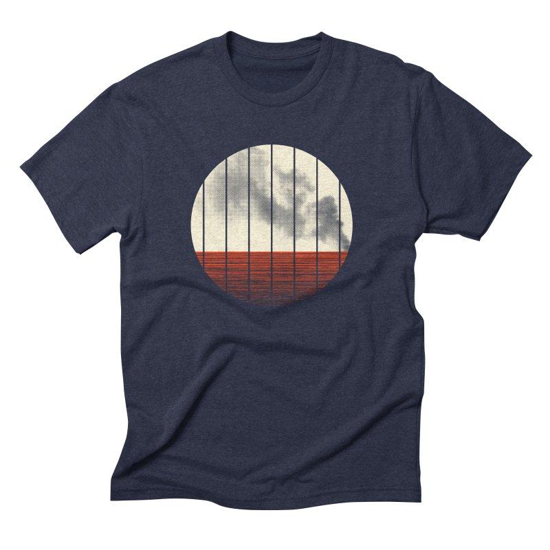 At Ease Men's Triblend T-Shirt by halfgotten's Artist Shop