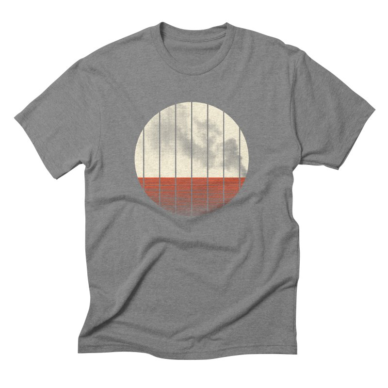 At Ease Men's Triblend T-shirt by halfgotten's Artist Shop