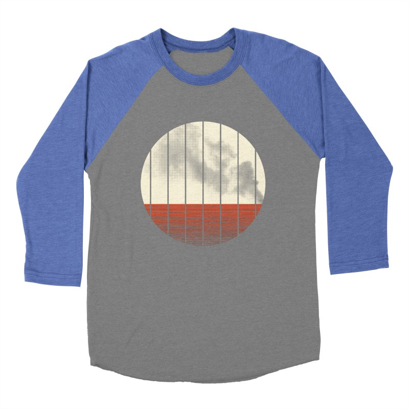 At Ease Men's Baseball Triblend T-Shirt by halfgotten's Artist Shop
