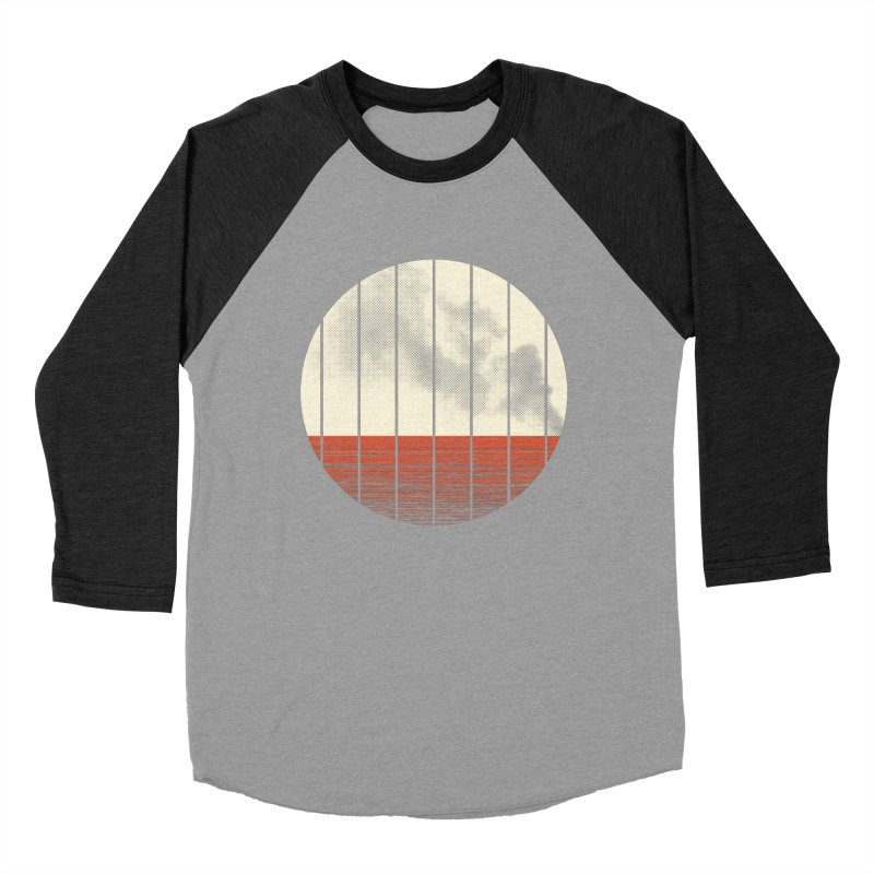 At Ease Men's Baseball Triblend T-Shirt by halfgotten's Artist Shop