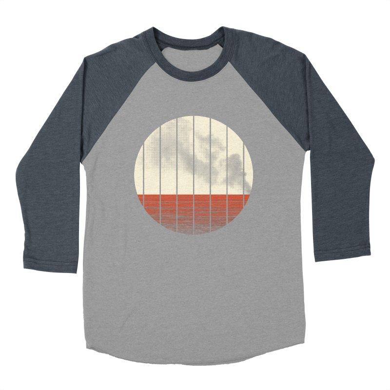 At Ease Men's Baseball Triblend Longsleeve T-Shirt by halfgotten's Artist Shop