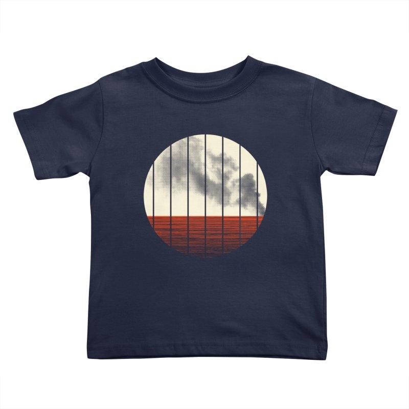 At Ease Kids Toddler T-Shirt by halfgotten's Artist Shop