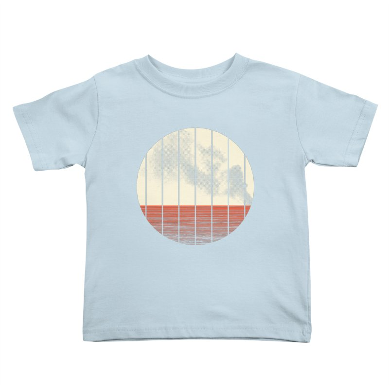 At Ease Kids Toddler T-Shirt by halfgotten's Artist Shop