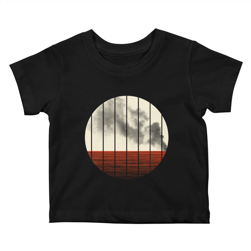 At Ease Kids Baby T-Shirt by halfgotten's Artist Shop