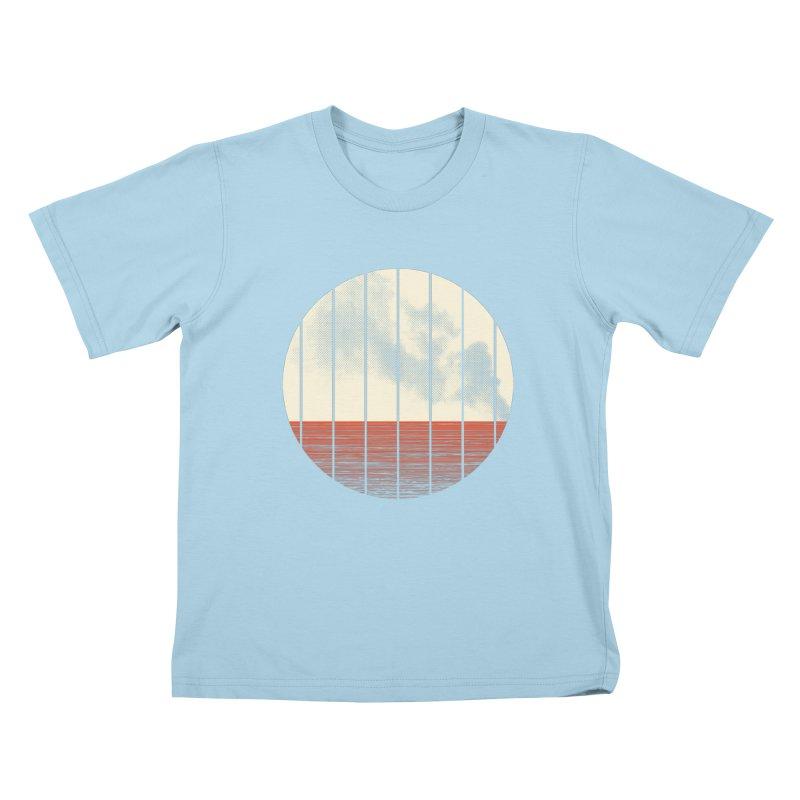 At Ease Kids T-Shirt by halfgotten's Artist Shop